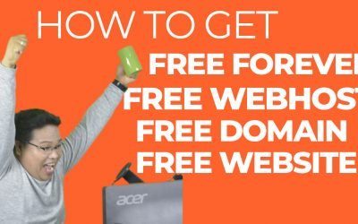 How to get Free Web Hosting, Free Domain, and Free Website Template.