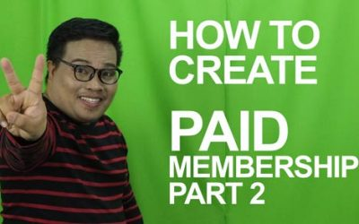 How to create paid membership site using Free Plugins